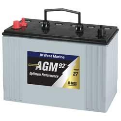 AGM Dual Purpose Marine Battery