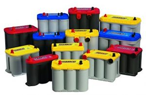 Assortment of Optima Batteries