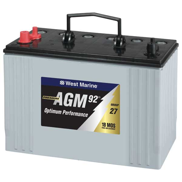 West Marine Dual Purpose AGM Review | Discount Marine Batteries