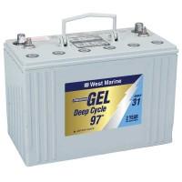 West Marine Gel Cell Marine Battery