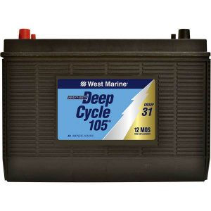 west marine deep cycle marine battery
