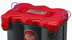 sealed battery vents