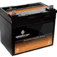 Chrome SLA Marine Battery