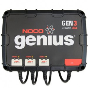 Noco Genius 3 Bank Battery Charger Review