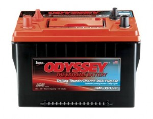 Odyssey Dual Purpose Marine Battery