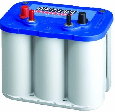 Blue Top Optima Marine Battery