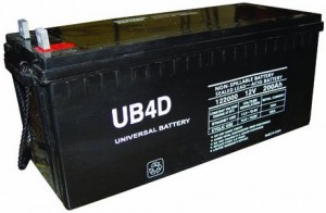 12V Solar Power Battery
