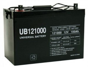 UPG Solar Battery For RV