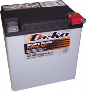 Deka Small Water Craft Marine Battery