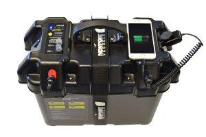 Smart Trolling Motor Battery Box