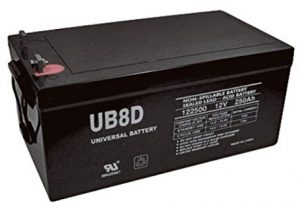 8D Battery by UPG